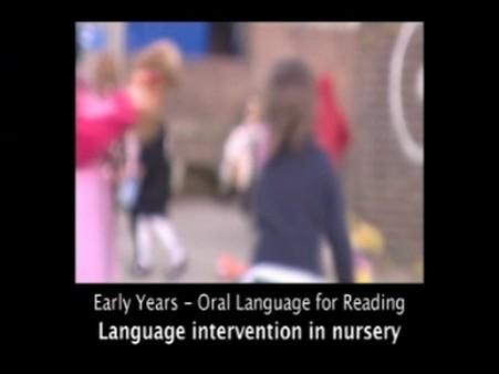 Language Intervention in Nursery