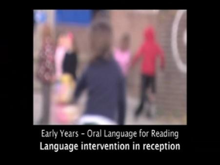 Language Intervention in Reception