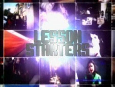 Lesson Starters (web clips for C/3949/002)