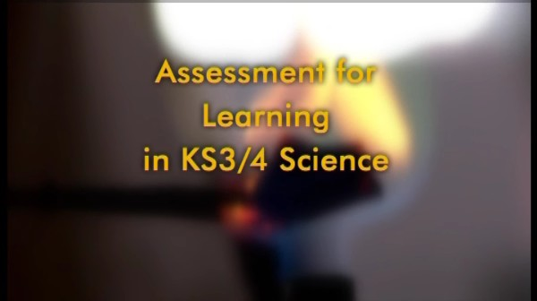 Assessment For Learning in KS3/4 Science – Anita and Biology