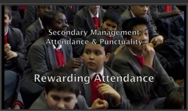 Attendance and Punctuality: Rewarding Attendance