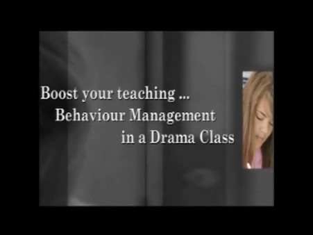 Behaviour Management in a Drama Class