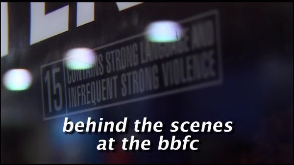 Behind the Scenes at the BBFC – Classifying Films