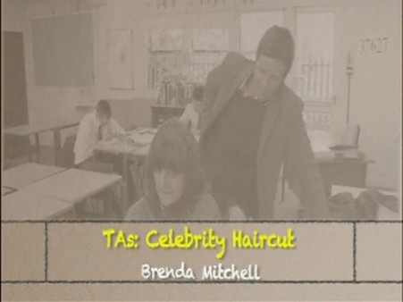 Celebrity Haircut – Brenda Mitchell