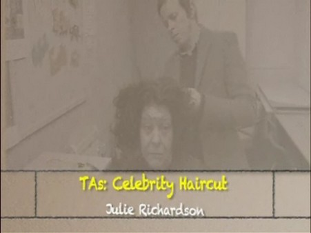 Celebrity Haircut – Julie Richardson