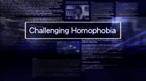 Challenging Homophobia