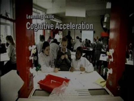 Cognitive Acceleration