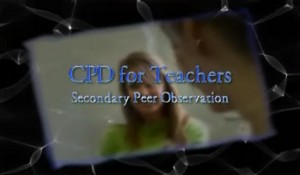 CPD for Teachers – Secondary Peer Observation