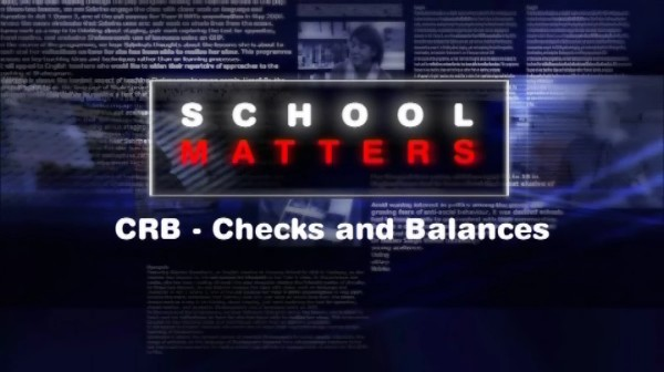 CRB – Checks and Balances