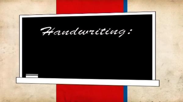 France – Teaching Handwriting