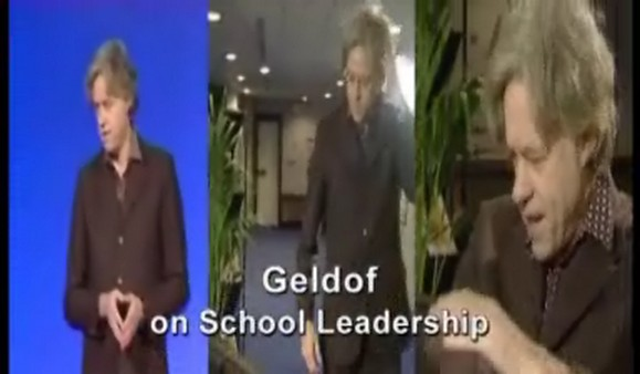 Geldof on School Leadership – Bob Geldof on Schools Leadership