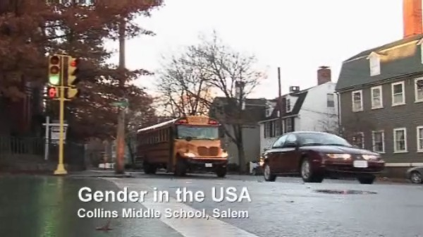 Gender in the USA – Collins Middle School, Salem