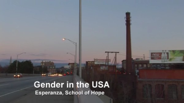Gender in the USA – Esperanza, School of Hope