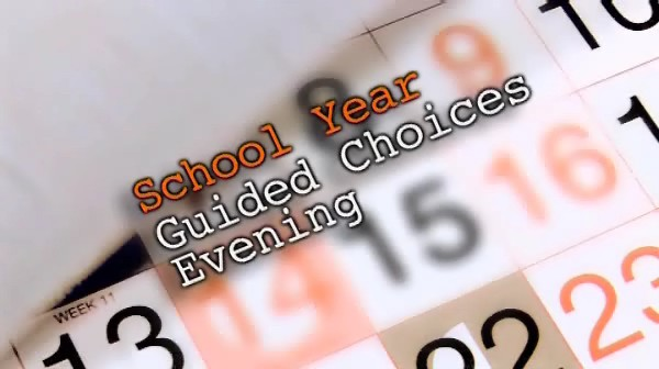 Guided Choices Evening