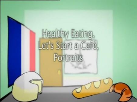 Healthy Eating, Let's Start a Café, Portraits