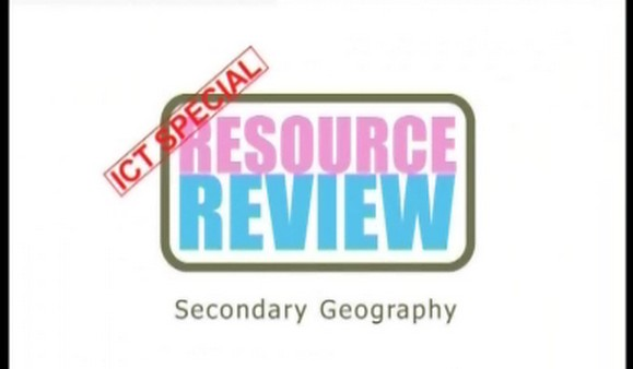 ICT Special: Secondary Geography 1