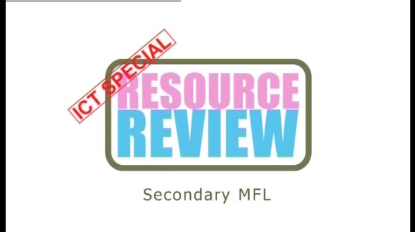 ICT Special: Secondary MFL