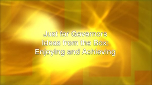 Ideas from the Box: Enjoying and Achieving