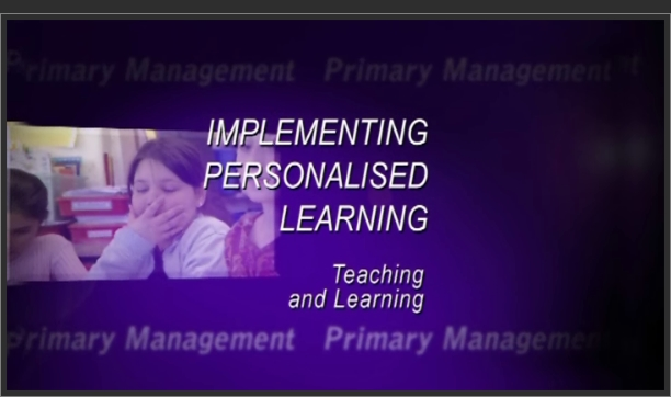 Implementing Personalised Learning: Teaching and Learning