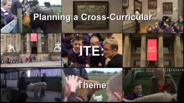 ITE – Planning a Cross-Curricular Theme