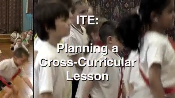 ITE – Planning a Cross-Curricular Lesson