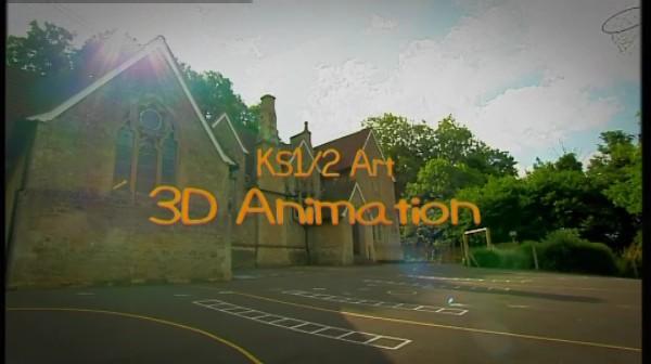 KS1/2 Art – 3D Animation