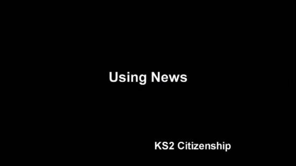 KS1/2 Citizenship – Using News