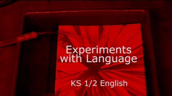 KS1/2 English – Experiments with Language