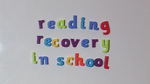 KS1/2 English – Reading Recovery in Schools
