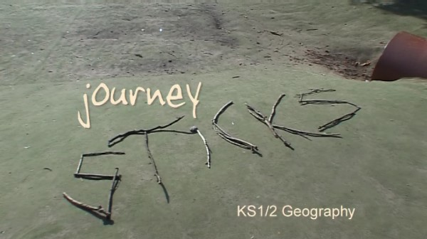 KS1/2 Geography – Journey Sticks