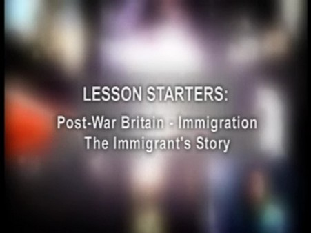 KS2 History – The Immigrant's Story