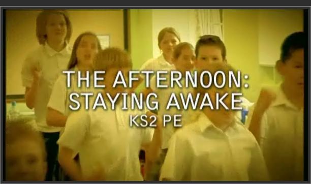 KS2 PE – The Afternoon: Staying Awake