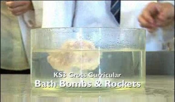 KS3 Cross Curricular – Bath Bombs and Rockets