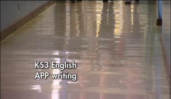 KS3 English – APP Writing