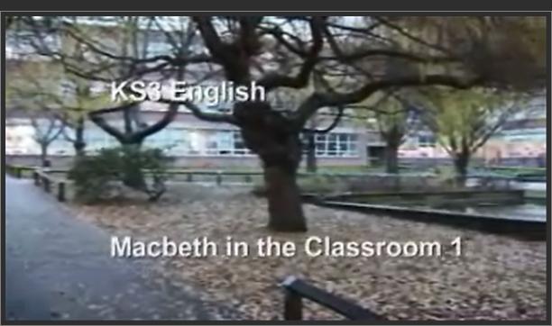 KS3 English – Macbeth in the Classroom 1