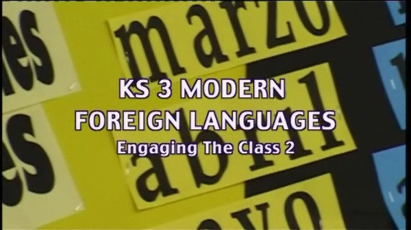 KS3 Modern Foreign Languages – Engaging the Class 2