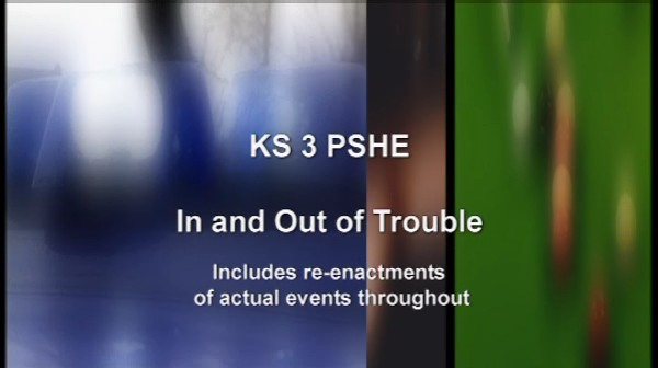 KS3 PSHE for Pupils – In And Out Of Trouble