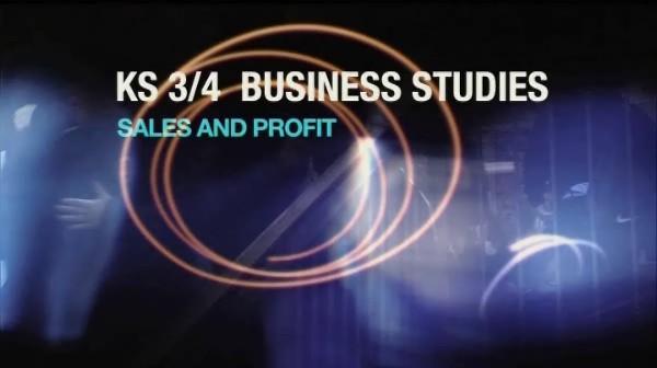 KS3/4 Business Studies – Sales and Profit