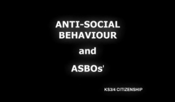 KS3/4 Citizenship – Anti Social Behaviour & ASBOs