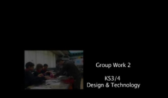 KS3/4 Design and Technology – Group Work in Design and Technology 2