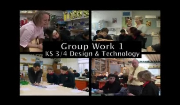 KS3/4 Design and Technology – Group Work in Design and Technology 1