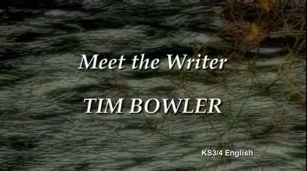 KS3/4 English – Meet the Writer: Tim Bowler