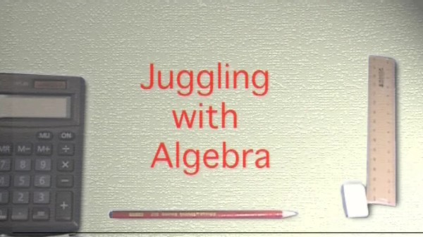 KS3/4 Maths – Juggling with Algebra