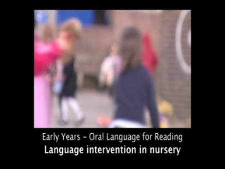 Language Intervention in Nursery