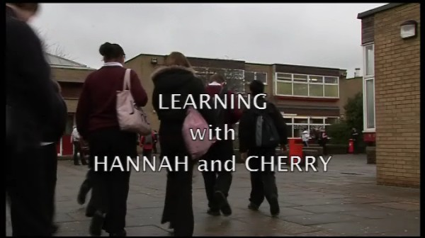 Learning With> – Hannah and Cherry