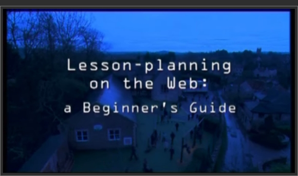 Lesson Planning on the Web