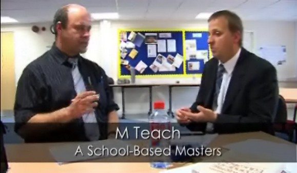 M Teach – A School-Based Masters