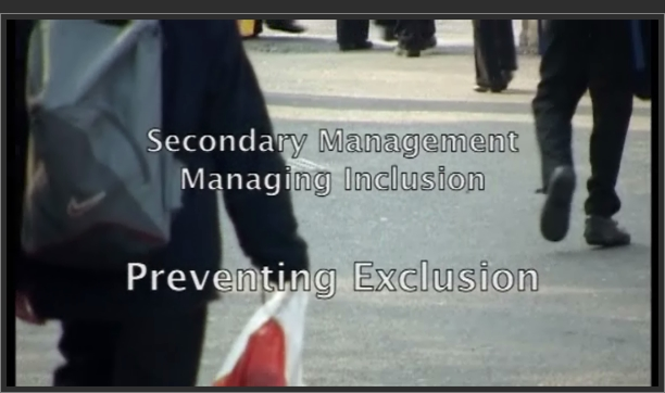 Managing Inclusion: Preventing Exclusion