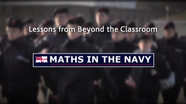 Maths in the Navy