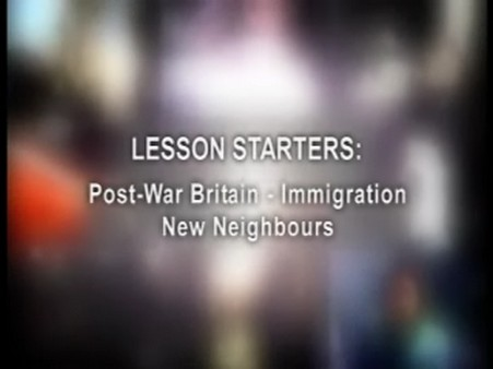 Post-War Britain: Immigration – New Neighbours